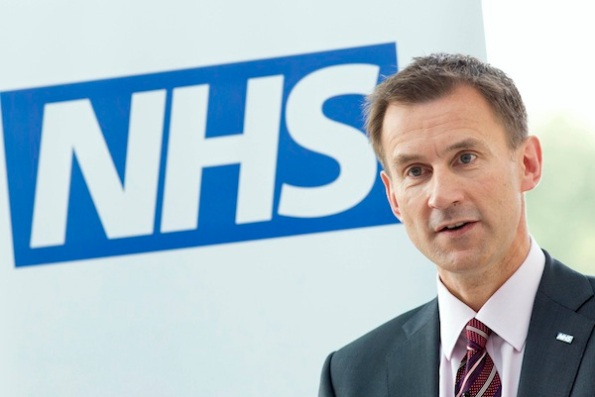 David Cameron And Jeremy Hunt Visit A Hospital To Mark The 65th Anniversary Of The NHS